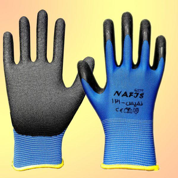 دستکش فلامنت نیتریل مدل نفیس 121